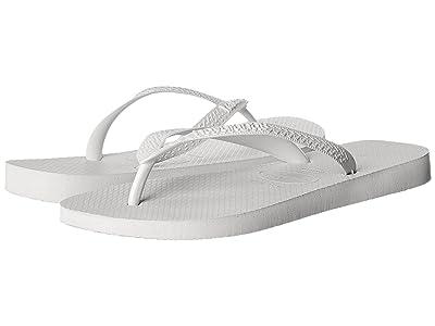 Havaianas Top Flip Flops (White) Men