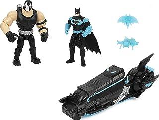 DC Comics Batman Moto-Tank Vehicle with 4-inch Bane Action Figure and Exclusive Batman Action Figure, Kids Toys for Boys