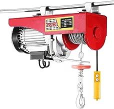 Happybuy 440 LBS Lift Electric Hoist 110V Electric Hoist Remote Control Electric Winch Overhead Crane Lift Electric Wire Hoist