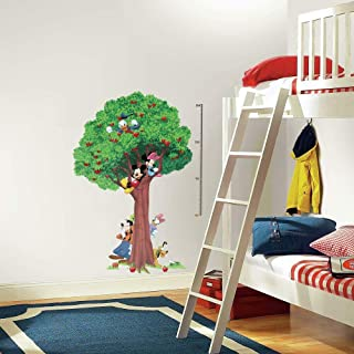 Roommates Mickey & Friends Metric Growth Chart Wall Decal, Multi-Colour, INT1514SLM