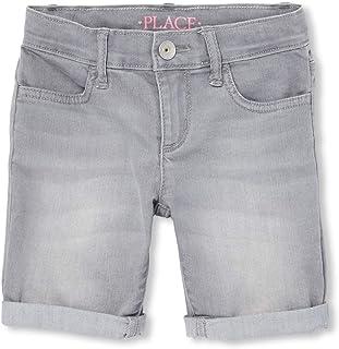 The Children's Place Big Girls' Denim Skimmer Shorts