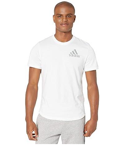 adidas Sport ID Metallic Tee (White) Men