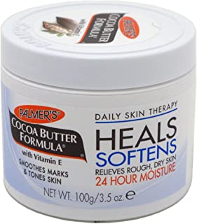 Palmers Cocoa Butter Jar With Vitamin-E 3.5 Ounce (103ml) (6 Pack)