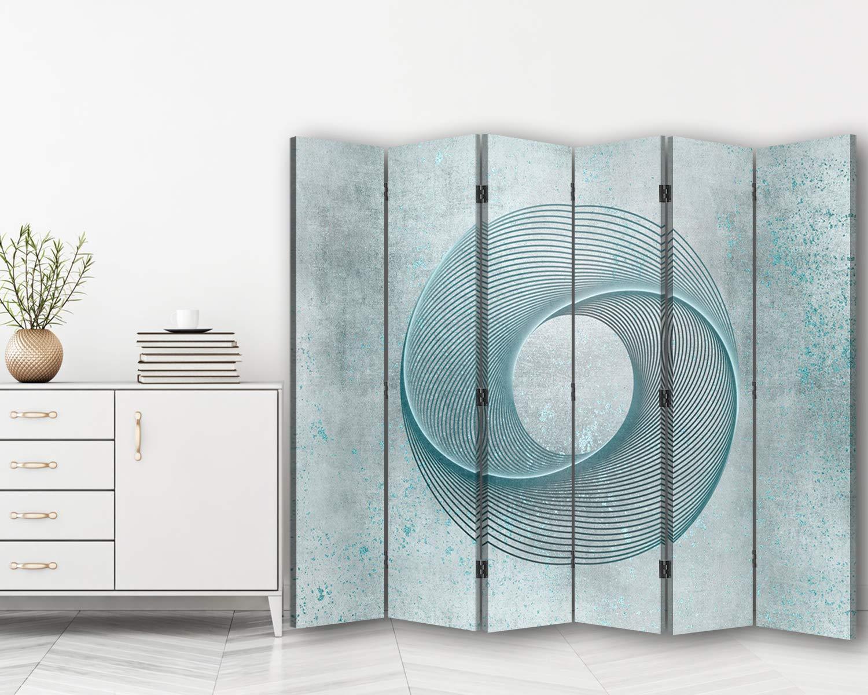 carowall CAROWALL.COM Biombo Decorativo Abstracto 6 Paneles 360 ...