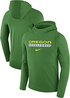 17bf9cfd927 NIKE Oregon Ducks Basketball Therma-Fit Pullover Hoodie Sweatshirt (X-Large)