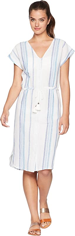 Splendid Tapestry Stripe Dress Cover-Up