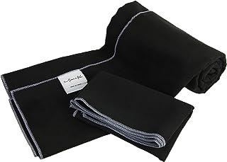 Miss Mila Set of 2 Yoga Towels-Soft Microfiber,Super Absorbent,Non-slip,Skidless Hot Yoga Towels-Choose Your Favorite Color