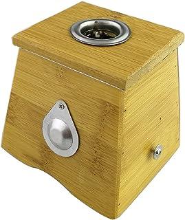 Winterworm Bamboo One Hole Healing Box for Moxa Moxibustion Medicine Therapy