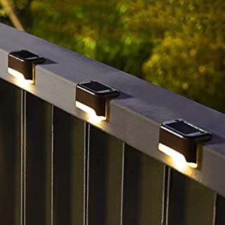 Solpex Solar Deck Lights Outdoor 16 Pack, Solar Step Lights Waterproof Led Solar lights for Outdoor Stairs, Step , Fence, ...