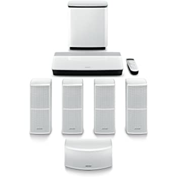 Bose Lifestyle 600 Home Entertainment System, color blanco