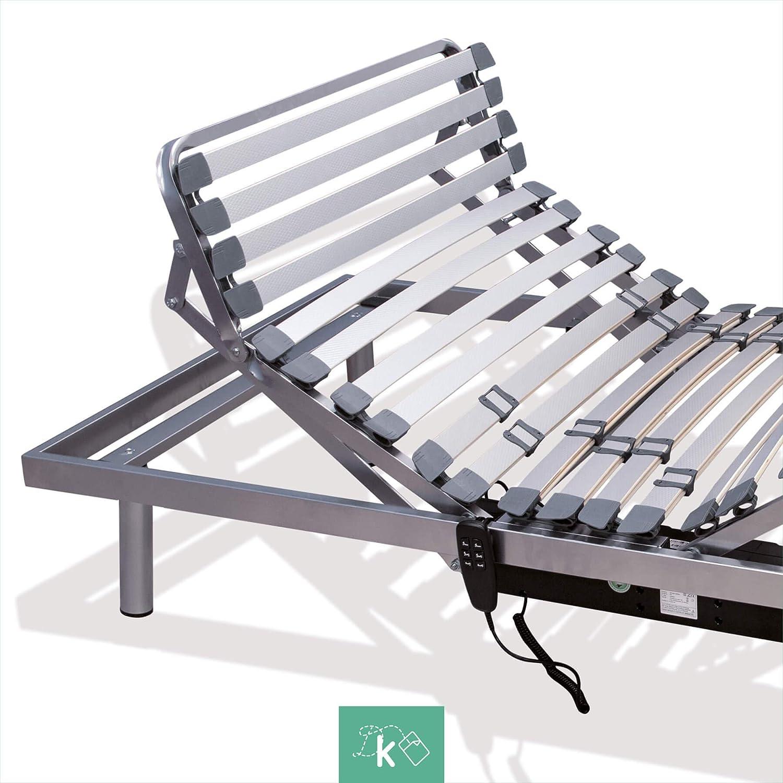 Dreaming Kamahaus Cama Articulada 5 Planos   Motor con Mando por Cable   120 x 180cm  