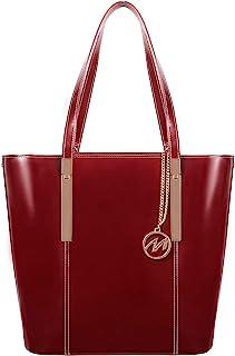 McKleinUSA CRISTINA 97546 Red Leather Women's Business Tote