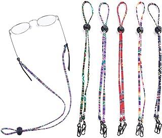 5 PCS Multi-Function Adjustable Eyegl Straps Chain Sunglass Holder Straps, Mask Lanyard