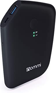 Nommi Slim: Secured 4G LTE Unlocked Hotspot | Global Coverage via SIM/eSIM in 150 Countries | Built-in VPN for Privacy | Power Bank 5600 mAh | Roaming-Free | Wi-Fi Extender | Portable | Black