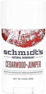 Schmidt's Deodorant, Cedarwood + Juniper, 3.25 oz (92 g) - 2pc