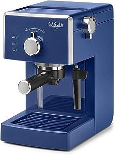 Gaggia Viva Chic Midnight Blue manuel kahve makinesi, 1025 W, 1 litre, ABS