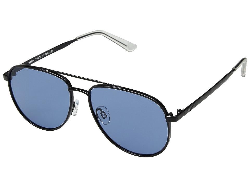 Le Specs Hard Knock (Matte Navy/Blue Smoke Mono) Fashion Sunglasses