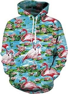 Mens Womens Cool 3D Print Hoodies Front Pocket Pullover Tops Sweatshirt Hip Hop Outerwear S-XXL