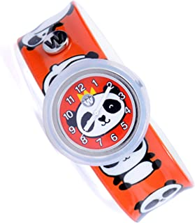 Watchitude Plunge Proof Slap Watch - Panda-monium - Kids Watch for Boys & Girls