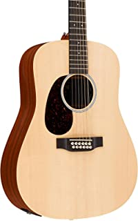 Martin X Series D12X1AE-L Dreadnought Left-Handed 12-String Acoustic-Electric Guitar Level 1 Natural