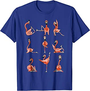 Flamingo Yoga Asana Pose Meditation Funny T-Shirt