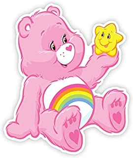 Cheer Care Bear Iron On Transfer for T-Shirts & Other Light and Dark Color Fabrics #15 Divine Bovinity (Light Color Fabric Iron On Transfer)