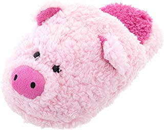 Image of Funny Pink Pig Slippers for Women