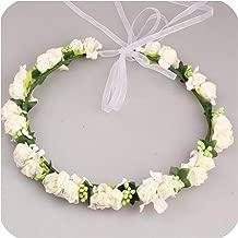 Handmade Fabric Adjustable Wreath Head wear Wedding Decoration Flower Crown Bride Hair Accessories Flower Wreaths 6C0503,1