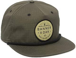 Mojave Scout Patch Snapback Hat - Adjustable Baseball Cap w/Plastic Snapback Closure