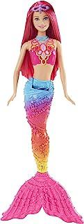 Barbie Mermaid Doll, Rainbow Fashion