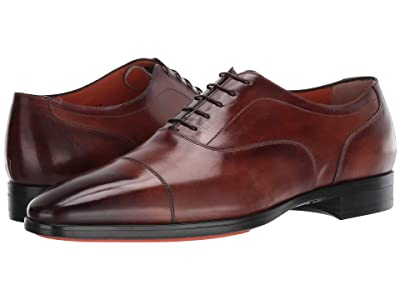 Santoni Eamon Oxford (Brown) Men