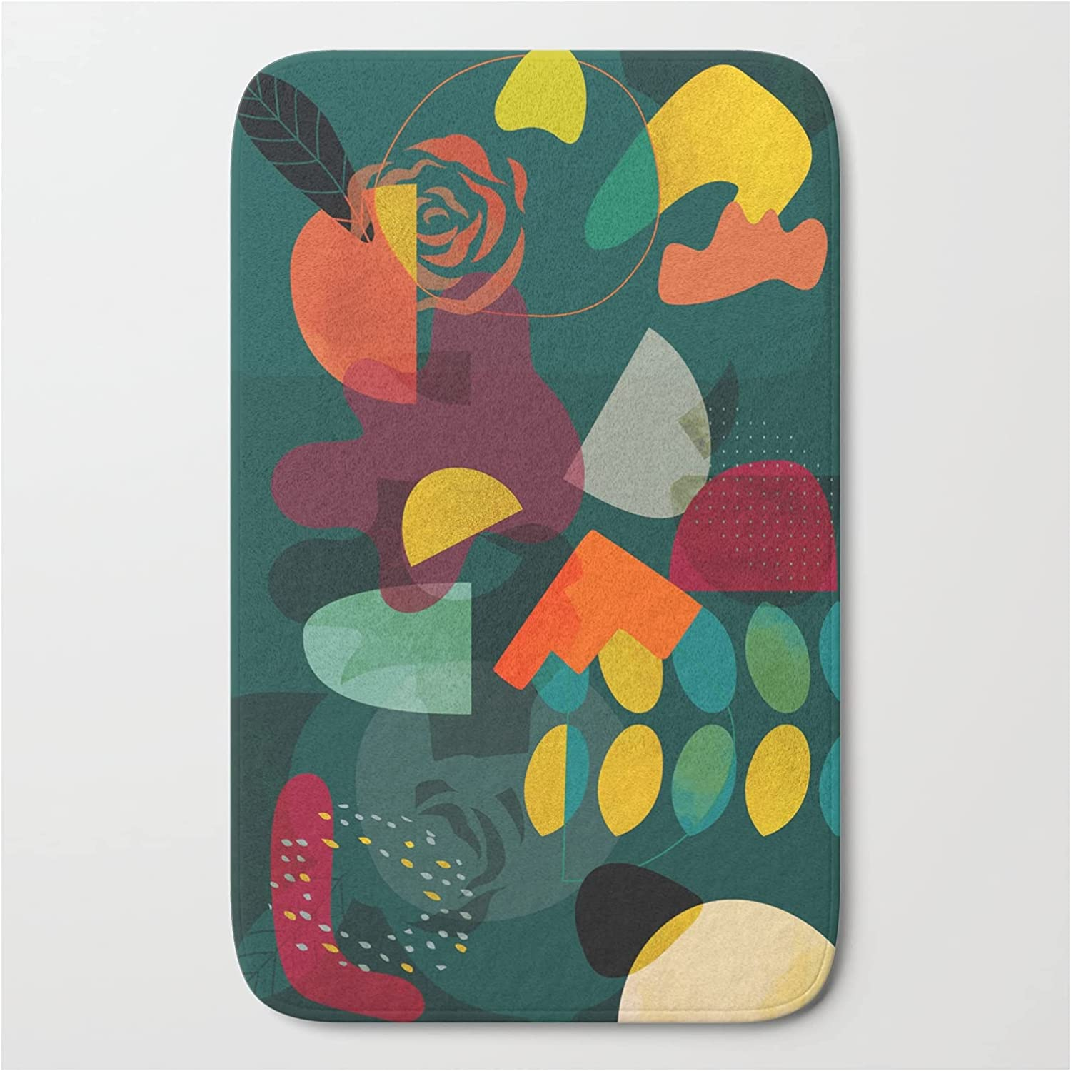 Society6 Mid Century Shapes Garden Party 4 Fine by Rut 40% OFF High quality Cheap Sale BRE A Ana