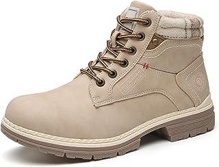 أحذية طويلة حتى الكاحل للنساء - أحذية رياضية عادية للقتال في الهواء الطلق