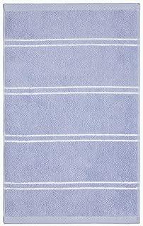 Calvin Klein Home Eileen Bath Collection Fingertip Towel, Periwinkle/White
