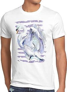 style3 svanflygning män t-shirt fågelfria fåglar