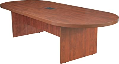 Regency Legacy 120-inch Racetrack Conference Table with Power Data Grommet- Cherry