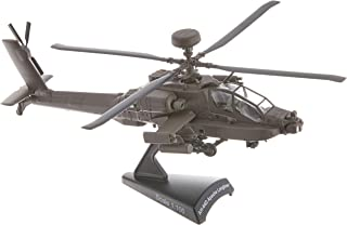 Daron Postage Stamp Boeing AH-64D Apache Longbow 1/100 Scale Diecast Display Model with Stand