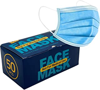 Healthify Disposable 3-layer Protective, 3-d Perfect Fit, Soft Skin Layer, Face Mask - 50 Pack, 1count