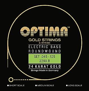 Optima 2299/B LS Bass GOLD Strings, Long Scale, 5-string Low B