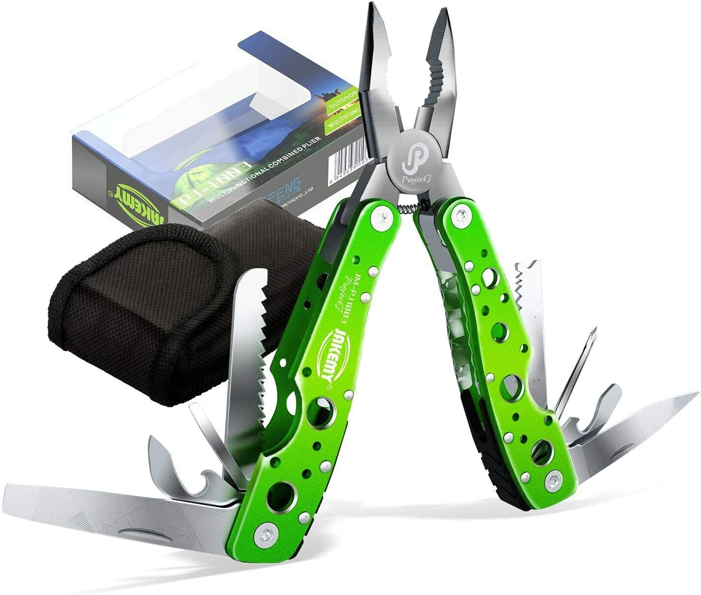 JAKEMY Ranking TOP17 9 Tools 15 Functions in Pock Challenge the lowest price Folding Portable Multitool 1