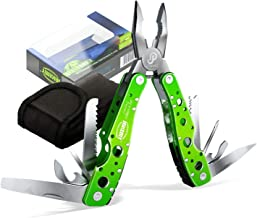 JAKEMY 9 Tools 15 Functions in 1 Multitool Portable Folding Pocket Knife Pliers..