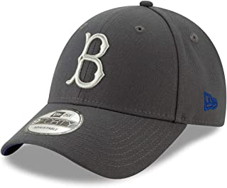new style 25253 32e7d New Era Brooklyn Dodgers 9Forty MLB Cooperstown The League Graphite Hat