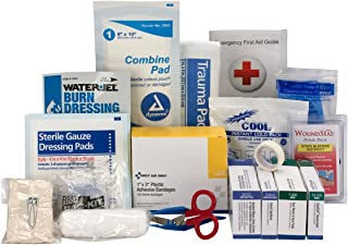 First Aid Only 90786 25 Person Contractor ANSI A+ First Aid Kit Refill, Large