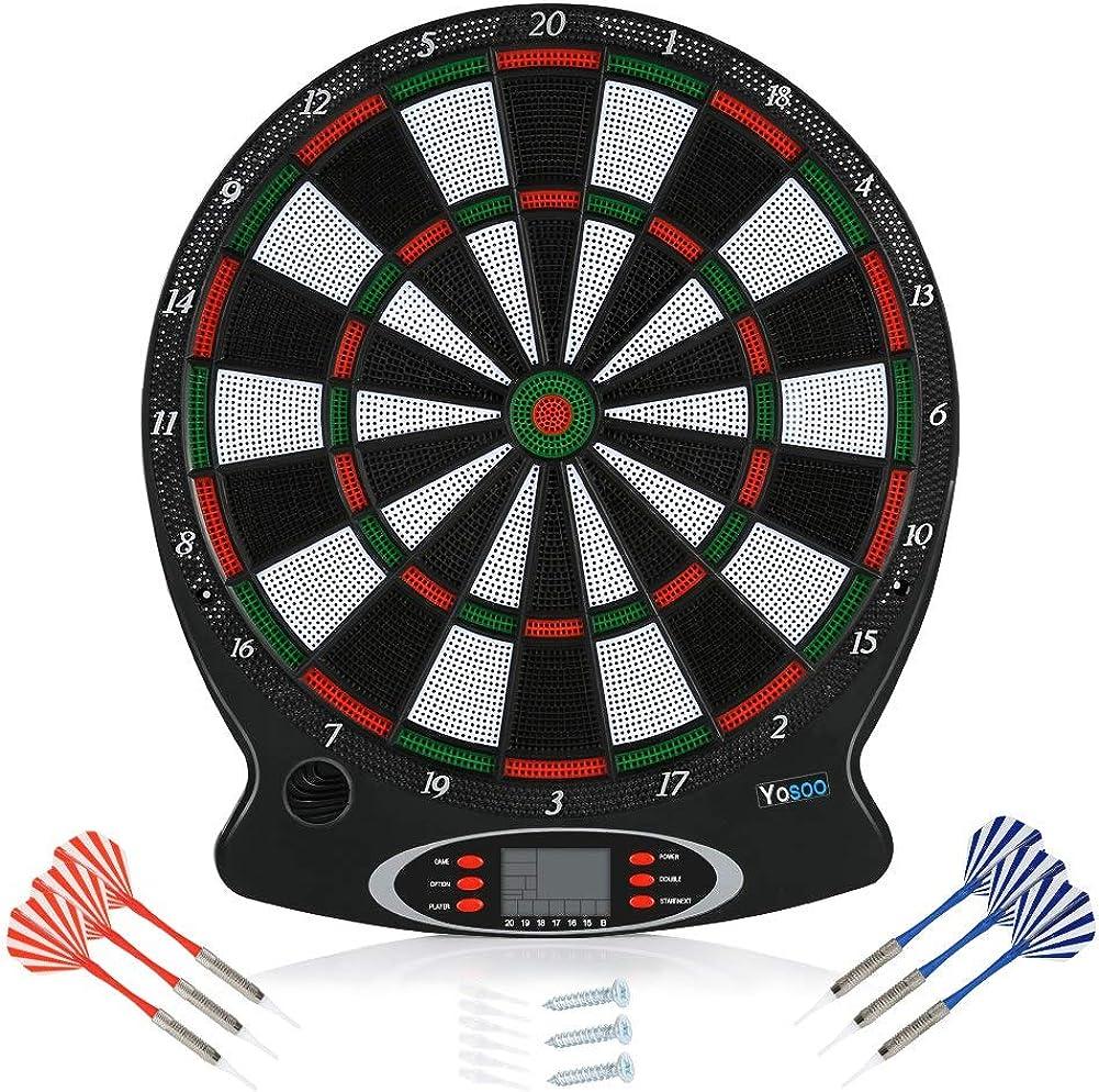 NEW Keen so free Electronic Dartboard 6pcs Darts Professional