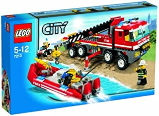 lego off road fire