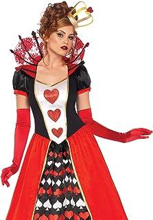 Leg Avenue Women`s Wonderland Queen of Hearts Halloween Costume