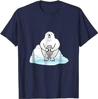 Funny Polar Bear & Seal T-Shirt