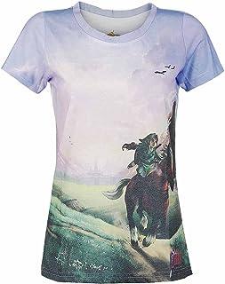 Zelda T-Shirt (Damen) -XL- Ocarina of Time