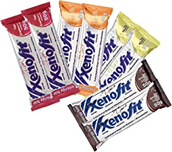 Xenofit Energy Bar Mixed Flavour Energy Bar 8x50g Estimated Price : £ 13,55