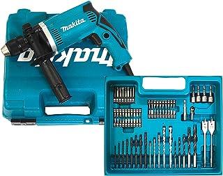 Makita klopboormachine in koffer, 710 W inclusief 74-delige accessoires, HP1631KX3
